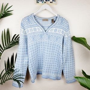 I.E. Relaxed   Icelandic Style Sweater sz L